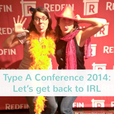 Type A Parent Conference 2014 was all about community and getting together in real life.