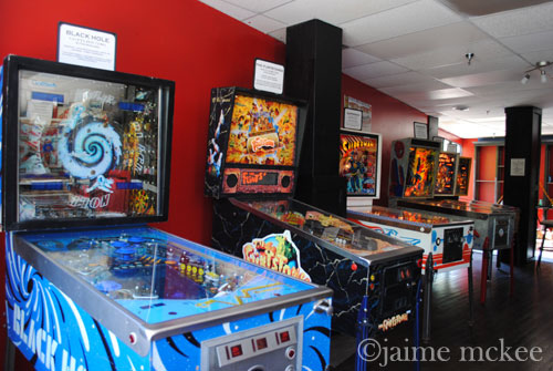 {See NC} Asheville Pinball Museum