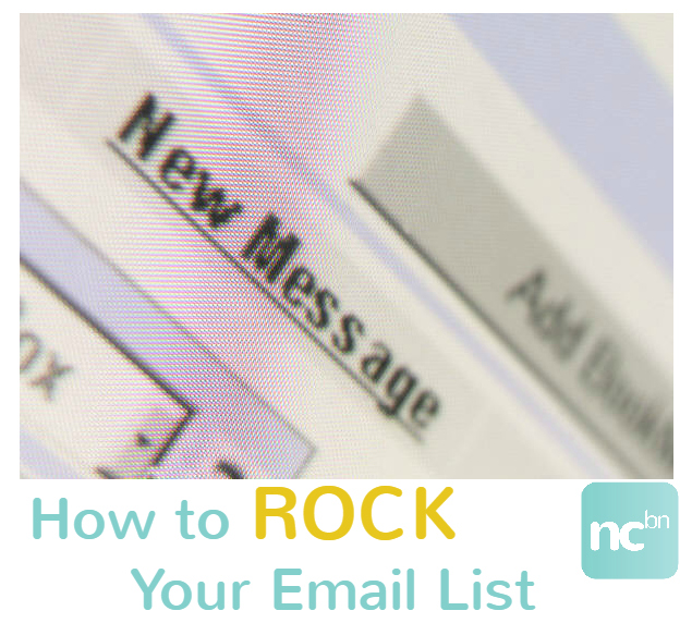 How to ROCK Your Email List