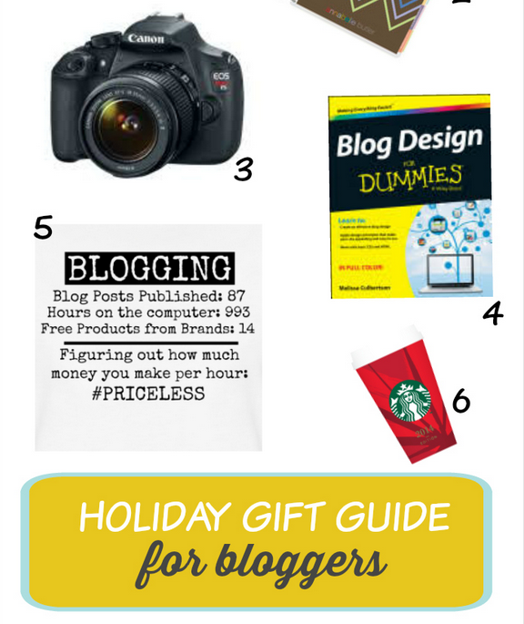 Holiday Gift Guide for Bloggers (2014)