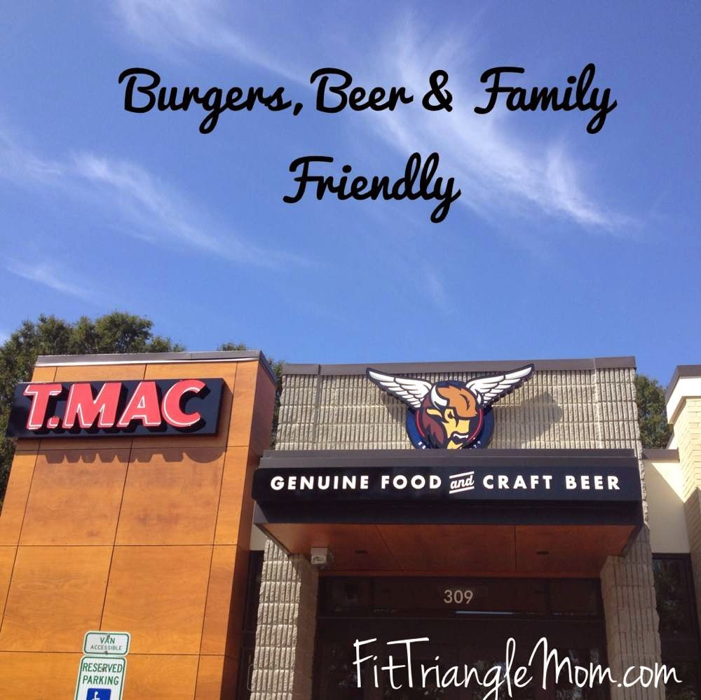 {See NC} T. Mac Cary – Burgers, Beer & Family Friendly