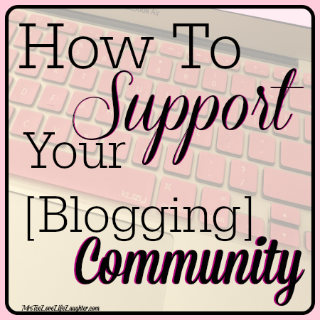 How to Support Your Blogging Community