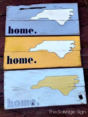 Enter our NC Pallet Sign Giveaway