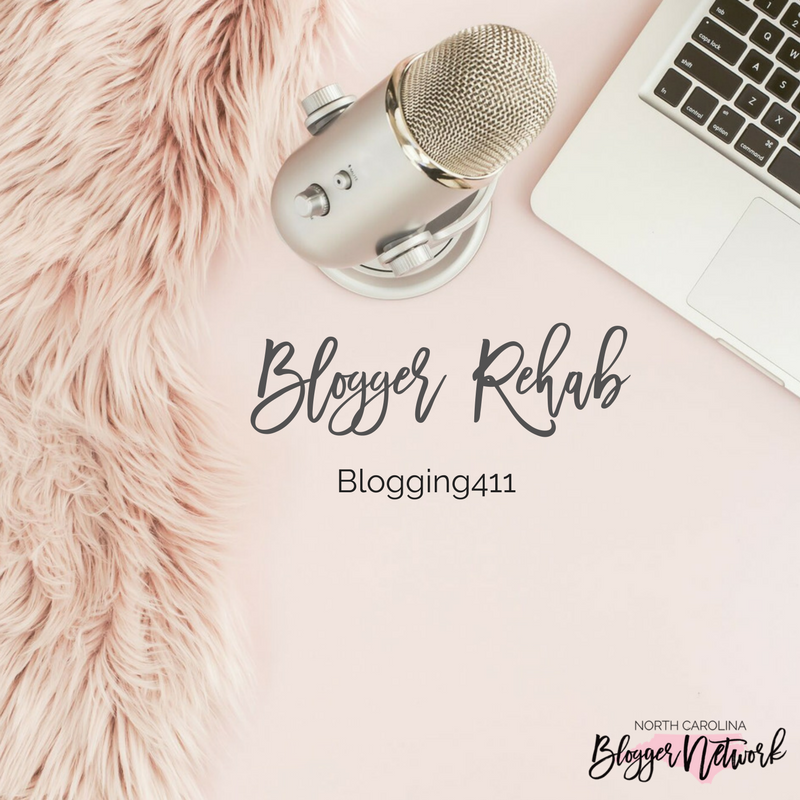 Blogging411: Blogger Rehab