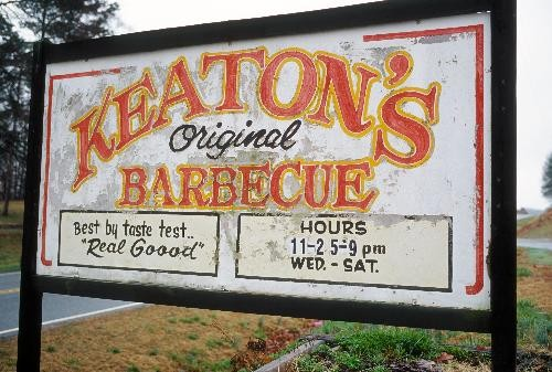 {See NC} Keaton's – A BBQ Lunch Worth the Drive Near Statesville, NC
