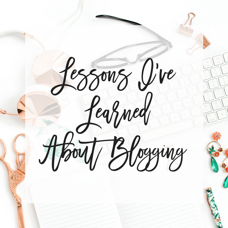 Lessons I've Learned About Blogging