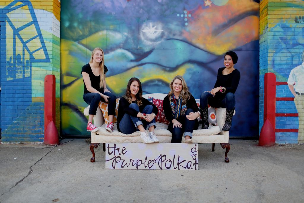 Girls from The Purple Polka Dot in Cary, NC