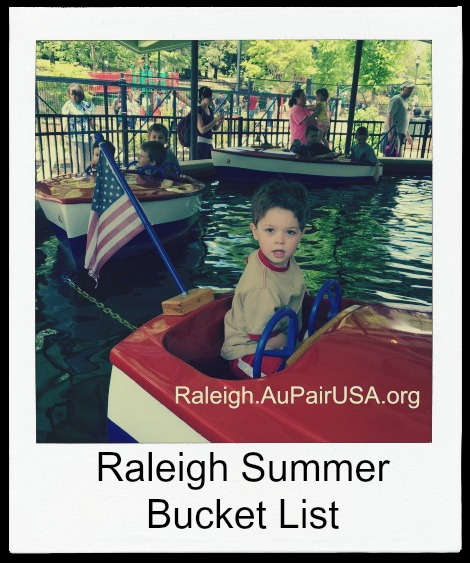 {See NC} Raleigh Summer Bucket List