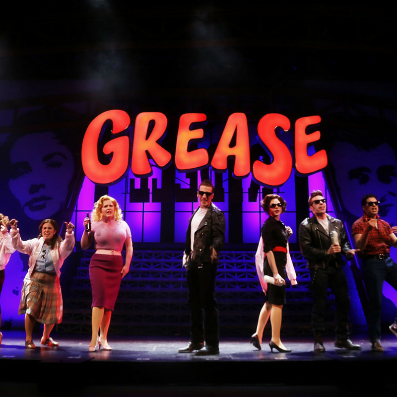 {See NC} NC Theatre's Production of GREASE
