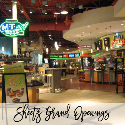 You're Invited to these Sheetz Grand Openings