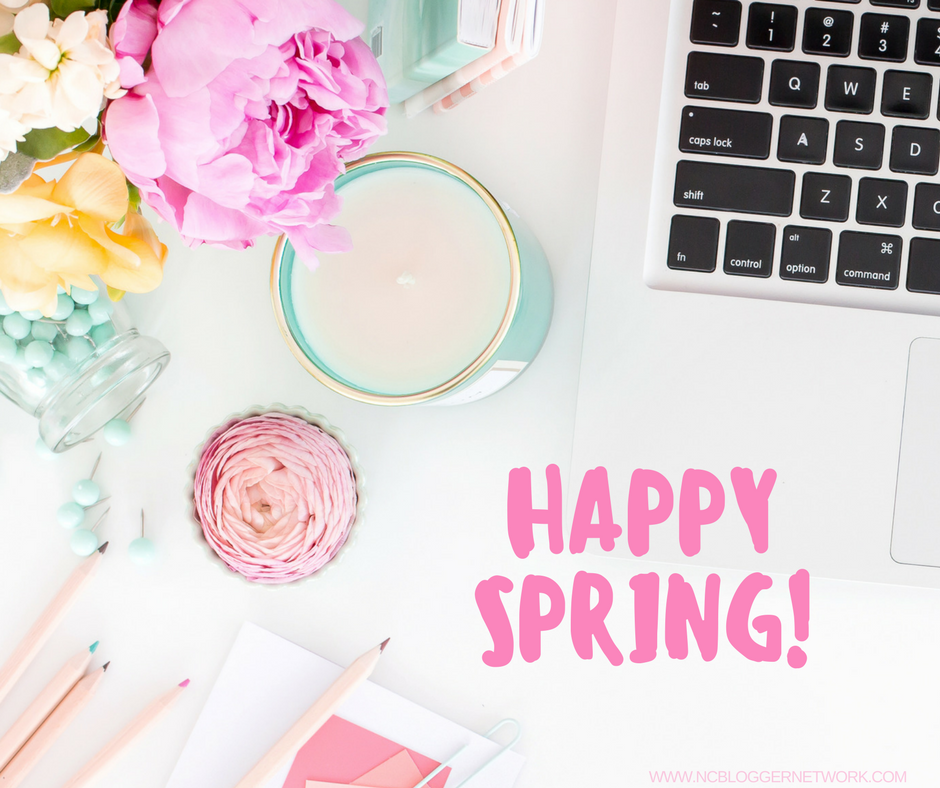 Happy First Week of April and Spring!