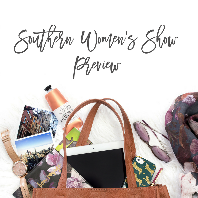 NC Blogger Network Meetup and Southern Women's Show Preview