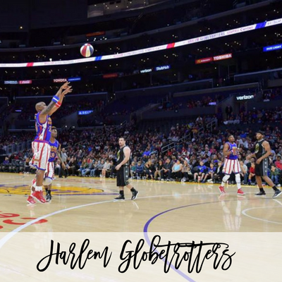 The Harlem Globetrotters are Coming to Raleigh!