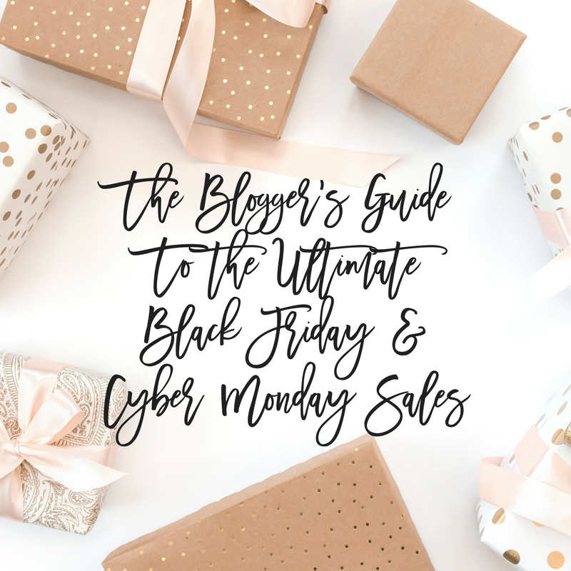 Bloggers guide to the ultimate black friday and cyber monday sales holiday presents fandeluxe Choice Image