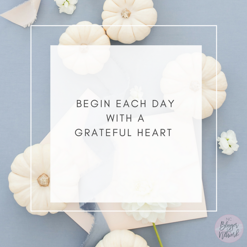 Motivational Monday – Grateful Hearts Gather Here