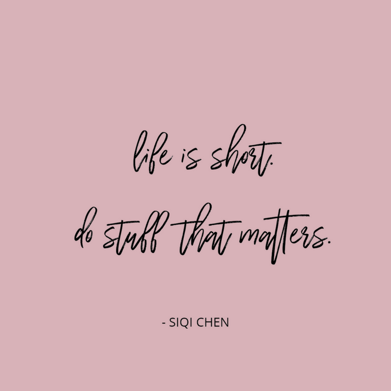 Motivational Monday – Do Stuff that Matters
